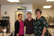 Rep. Quigley with MOW Employees